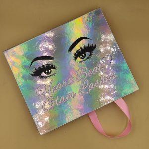 Custom 3 pairs EyeLash Storage Packaging Box