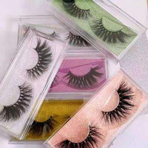 Simple Plastic Eyelash Packaging Boxes