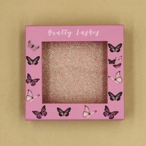 Custom Window Packaging With Butterflies
