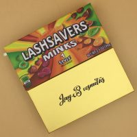 Custom Candy Eyelash Packaging Box