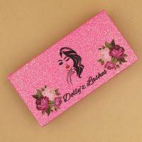 Pink Glitter Eyelash Packaging Wholesale