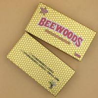 Custom Gold Lash Woods Packaging Box