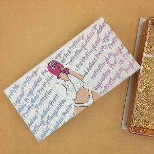 Custom-Made All-White Eyelash Packaging Box