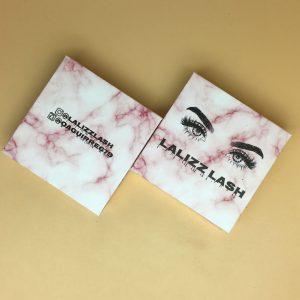 Wholesale Marble Lash Cases Label Boxes