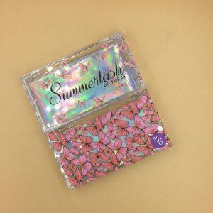 Custom acrylic eyelash packing box