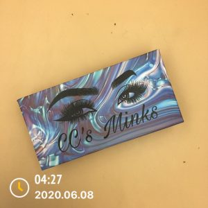 Custom Eyelash Box With Starry Sky