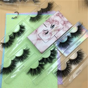 Open-Door Eyelash Packaging Boxes