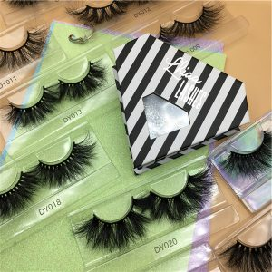 Diamond Eyelash Packaging Boxes