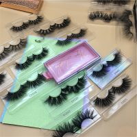 Wholesale Mink Lashes And Eyelash Packaging Boxes