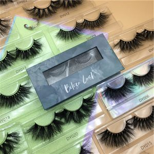 Custom Eyelash Packaging Boxes With Window