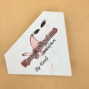 Diamond Shape Packaging For Mink Eyelashes