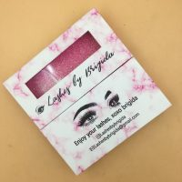 Wholesale Pink Marble Eyelash Packaging