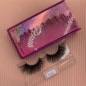 Wholesale Mink Eyelashes And Custom Eyelash Packaging Boxes