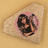 Rose Gold Diamond Eyelash Packaging Boxes