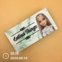 Custom Green Marble Eyelash Packaging Boxes