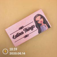 Custom Light Pink Eyelash Packaging Boxes WIth Logo