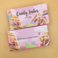 Candy Eyelash Packaging Boxes