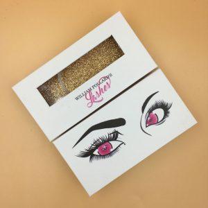 Wholesale Custom Open-window Eyelash Packaging