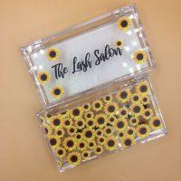 SunFlowers Eyelash Packaging Boxes Wholesale