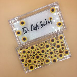 SunFlowers Eyelash Packaging Boxes Wholesale