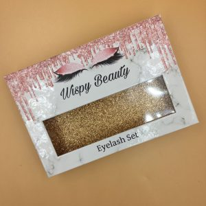 Custom Private Label 3 Pairs EyeLash Packaging Box
