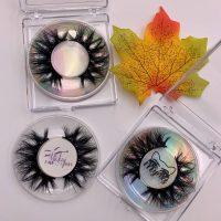Wholesale Square Acrylic Eyelash Packaging Boxes