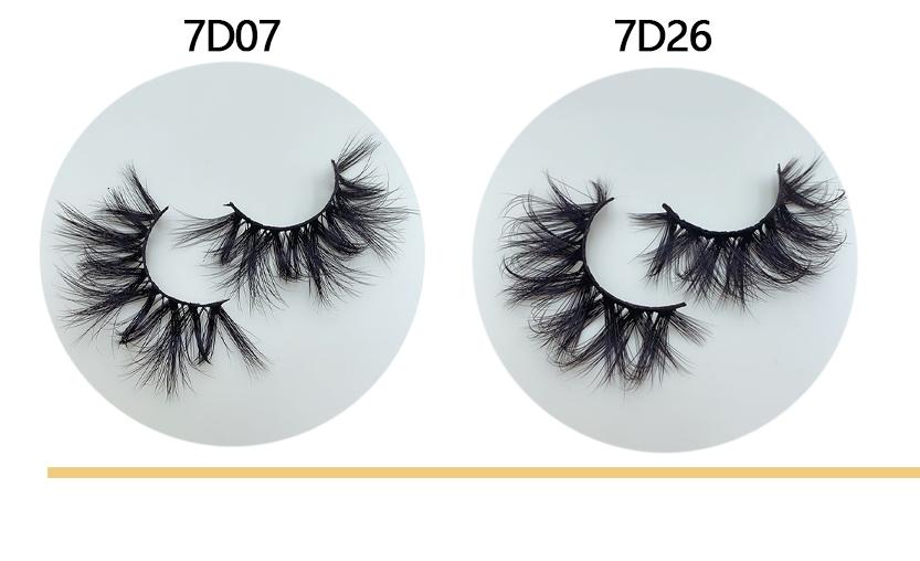 7D Mink Eyelashes Wholesale