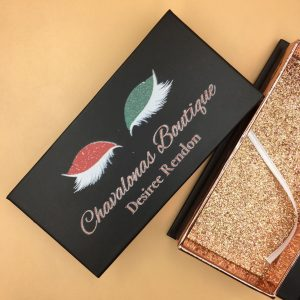 Wholesale Black Eyelash Packaging Boxes