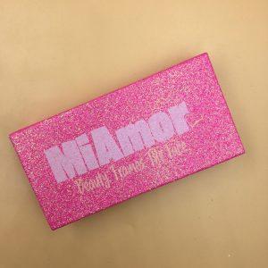 Pink Glitter Eyelash Packaging Boxes