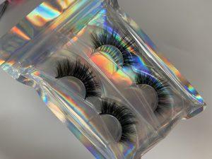 Holographic Eyelash Bags