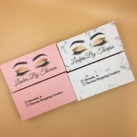 Wholesale Pink Eyelash Packaging Boxes With Logo