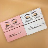 Wholesale Pink Eyelash Packaging Boxes With Logo
