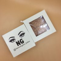 White Square Lash Boxes With Logo
