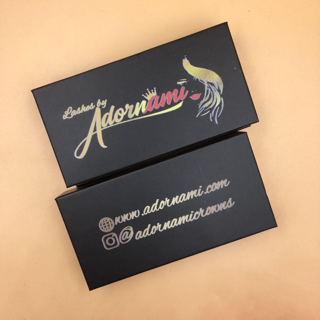 3D MinkEyelashes PackagingBox