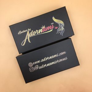 3D Mink Eyelashes Packaging Box