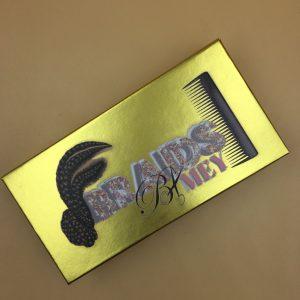 Gold Eyelash Packaging Box