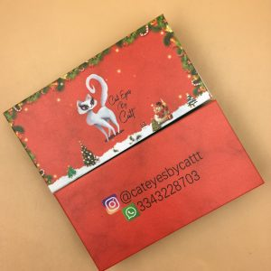 Christmas Eyelash Packaging Boxes With Your Logo