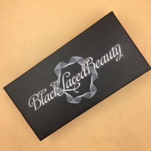 Black Eyelash Packaging Boxes With Logo