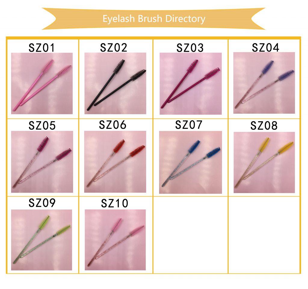 Mink Eyelash Brushes
