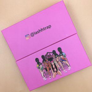 Pink Eyelash Packaging Box