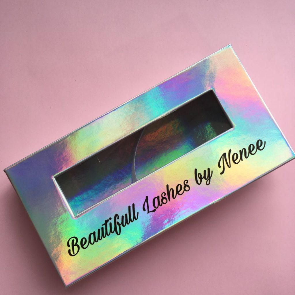 Eyelash Packaging Box With Window