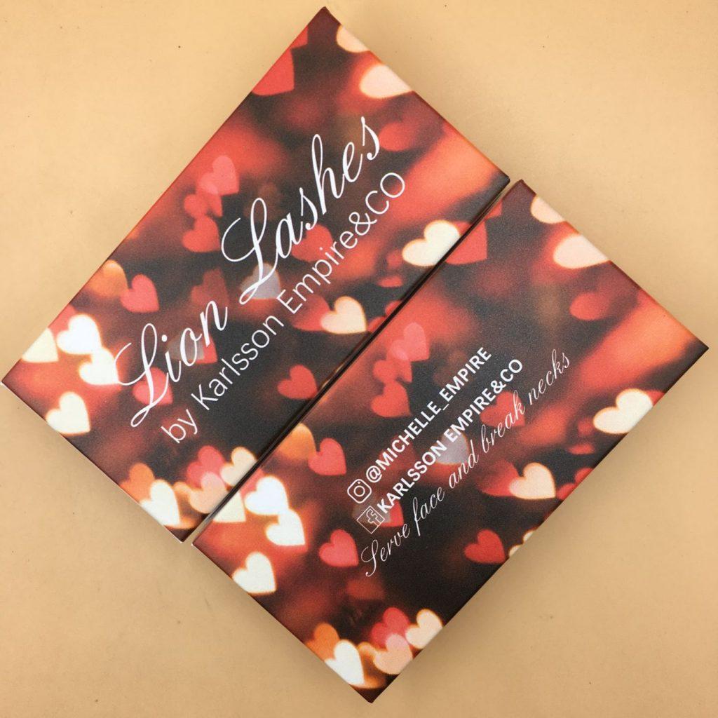 Valentine's Day Eyelash Packaging Box
