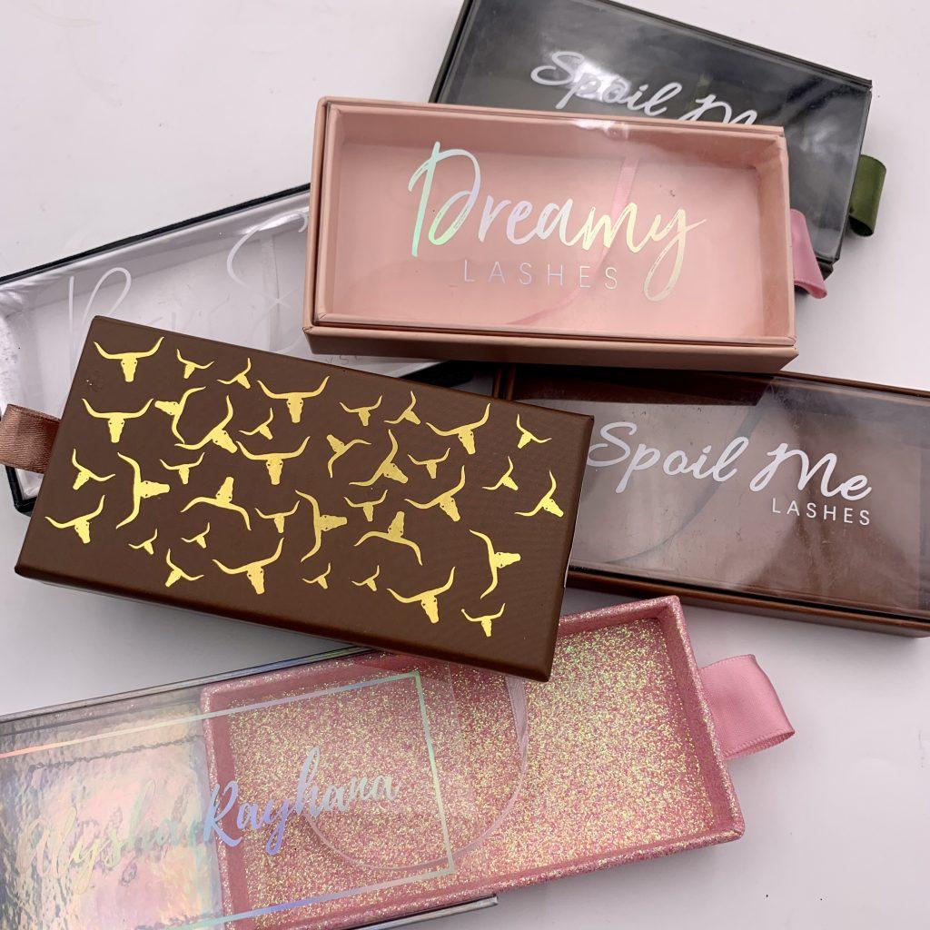 Wholesale Mink Eyelash Packaging