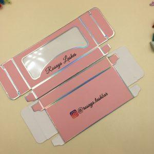 Paper Card Eyelash Packaging Box