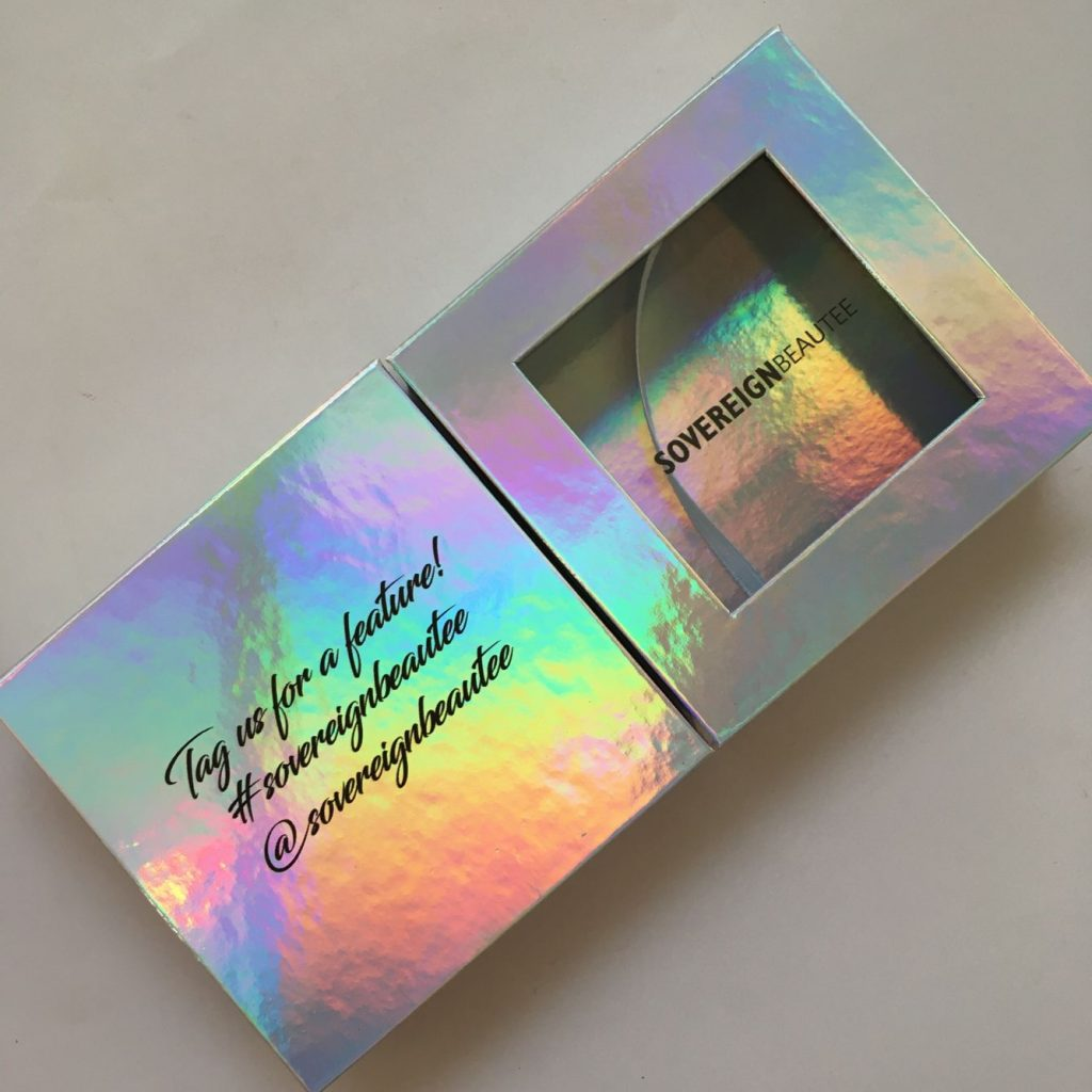 holographic eyelash packaging box