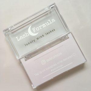 Acrylic diy eyelash packaging
