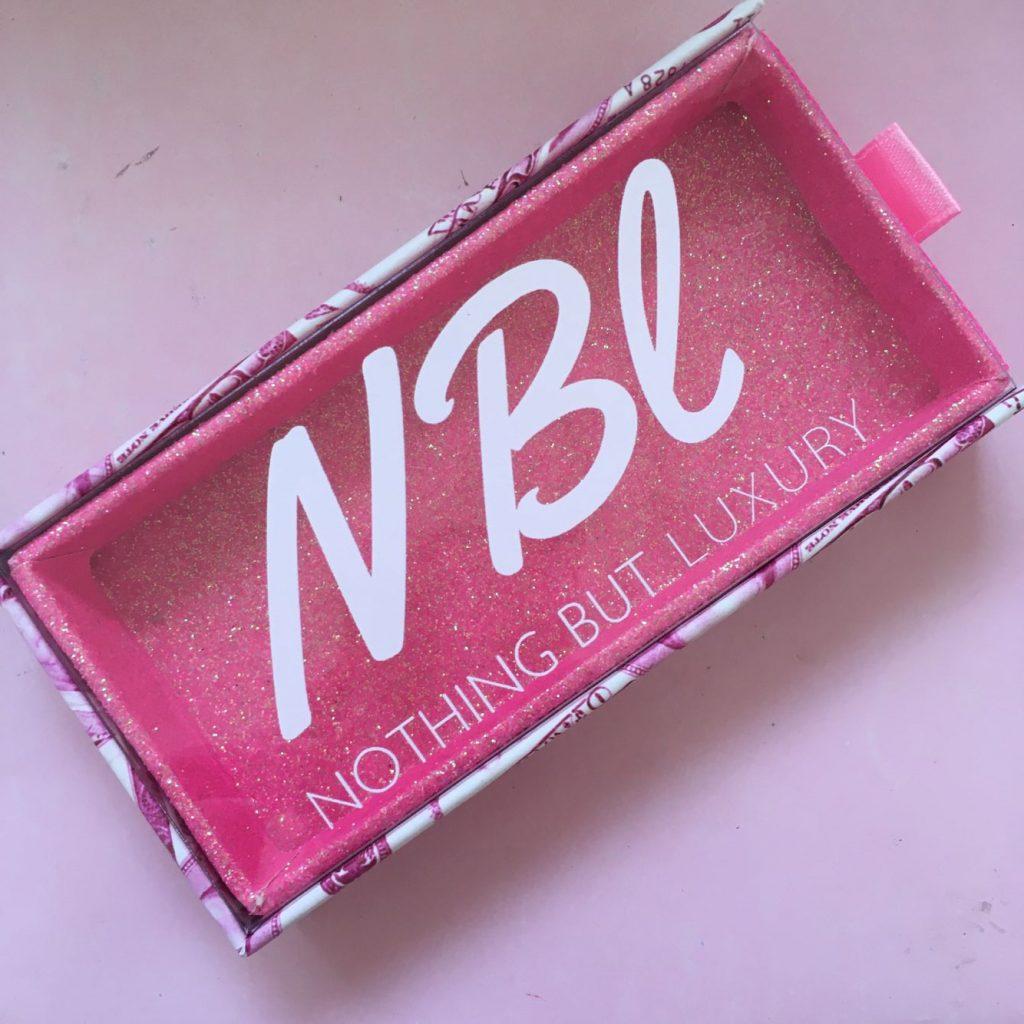 Pink Money Sliding Eyelash Packaging Box