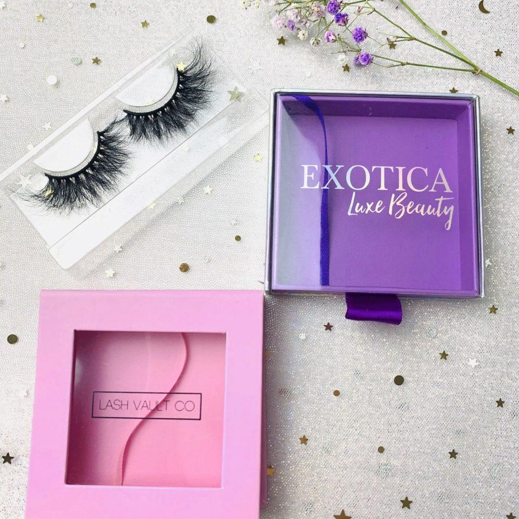 Square Custom Eyelash Packaging Box