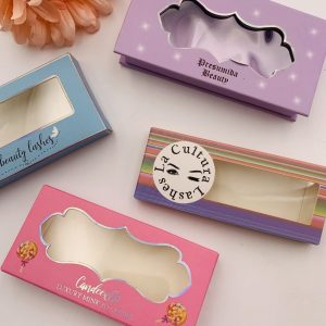 Paper Card Eyelash Packaging Box
