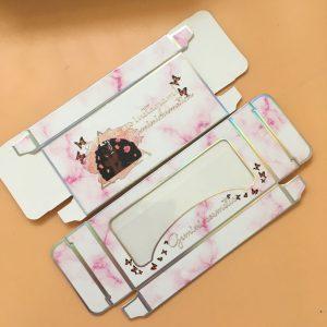 Paper Card Eyelash Packaging